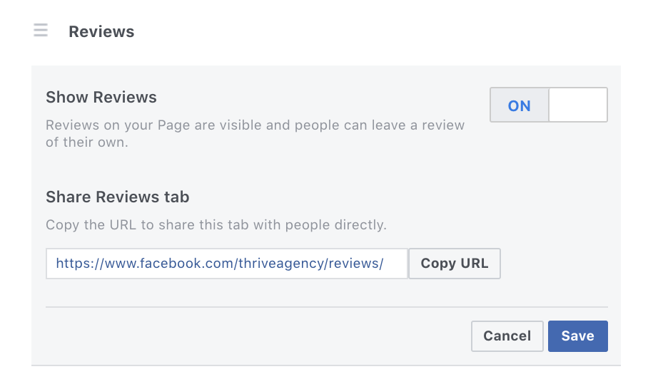 how to remove a bad review on Facebook