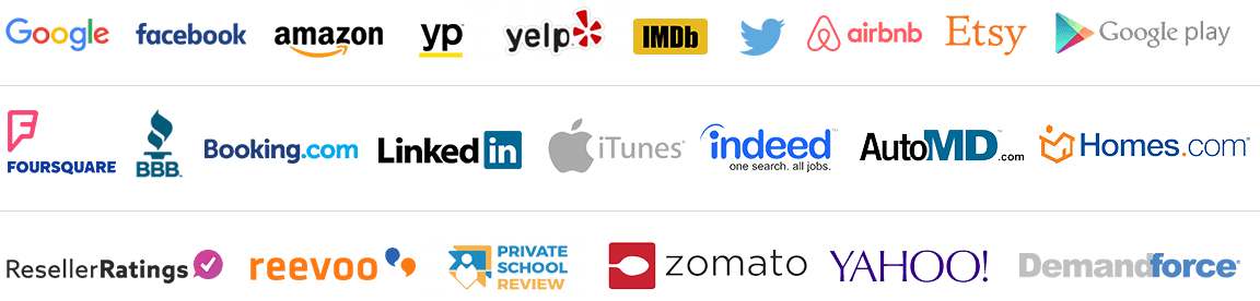 Manage Your Online Reviews On Over 100 Review Sites