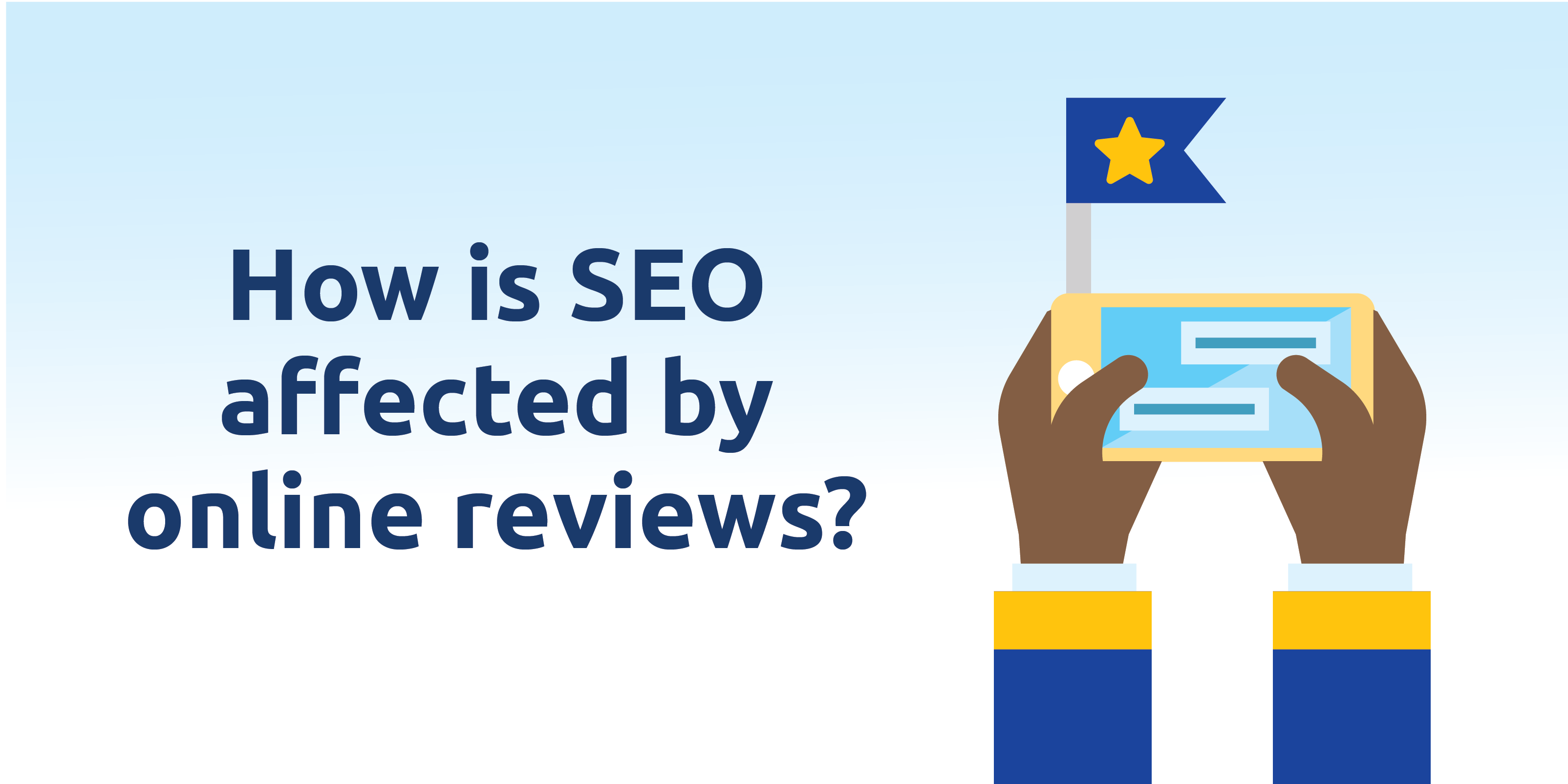 How is SEO affected by online reviews?