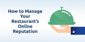 restaurant online reputation