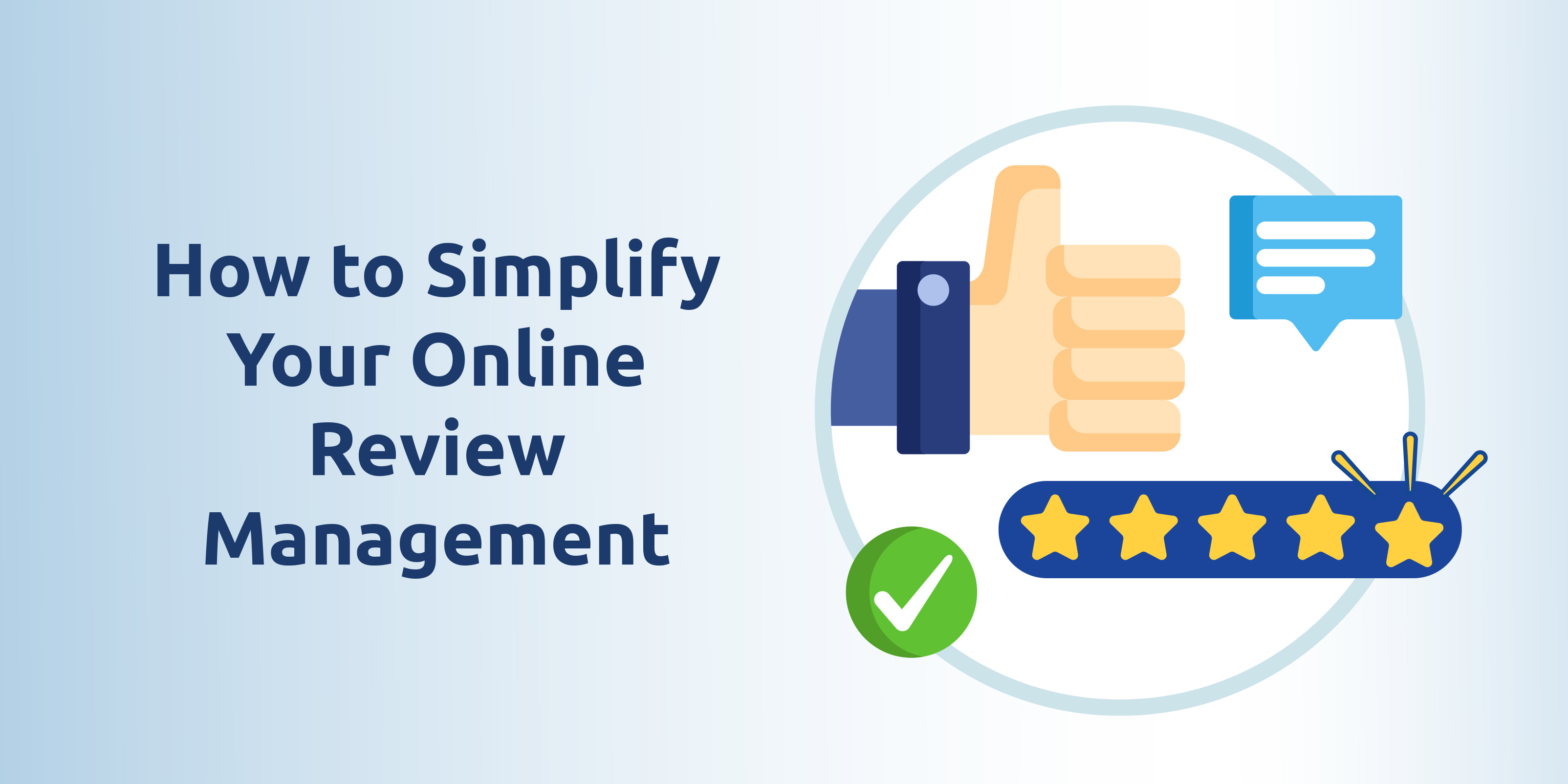 How to simplify your online review management