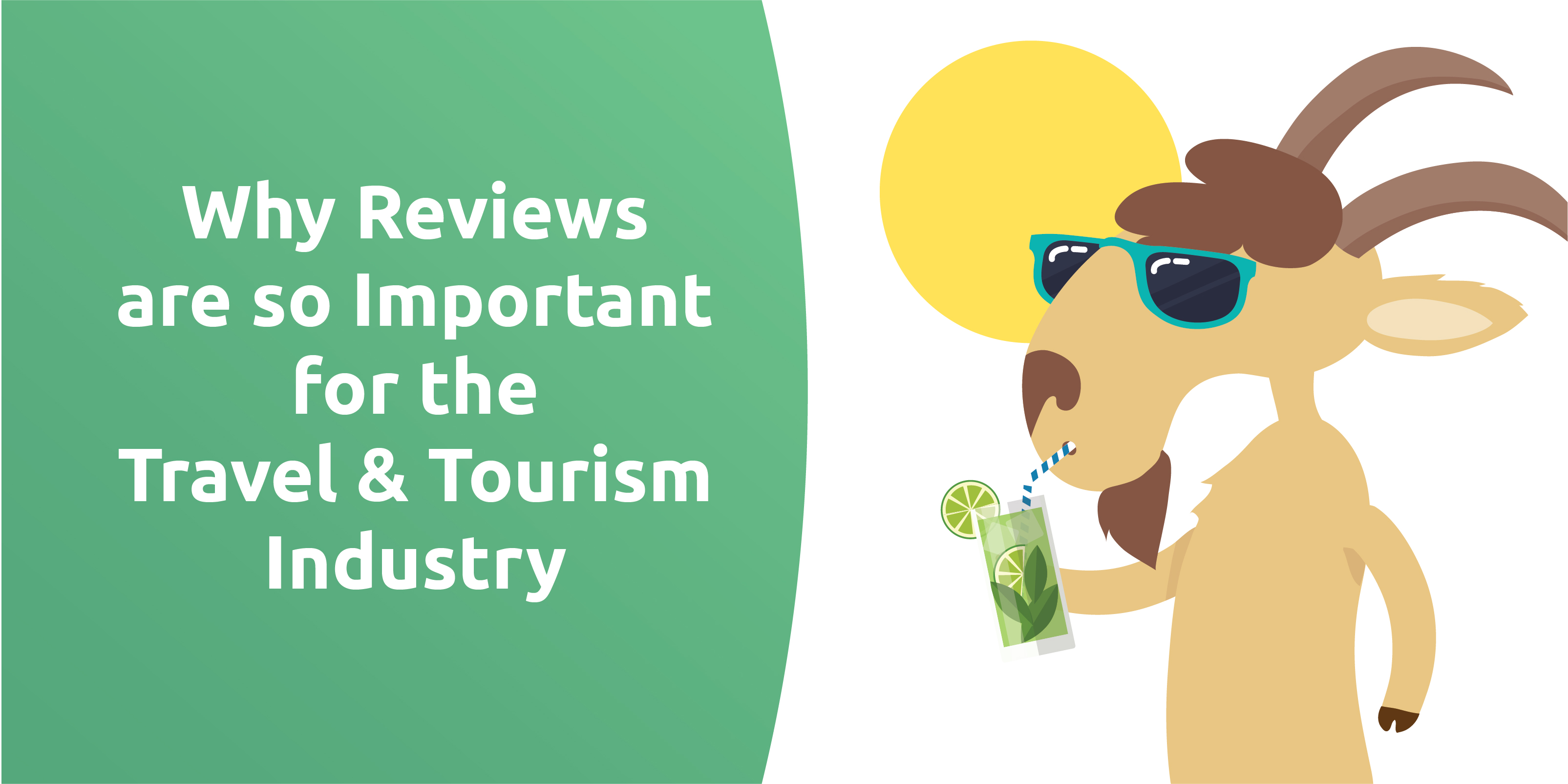 Why reviews are so important for the travel & tourism industry