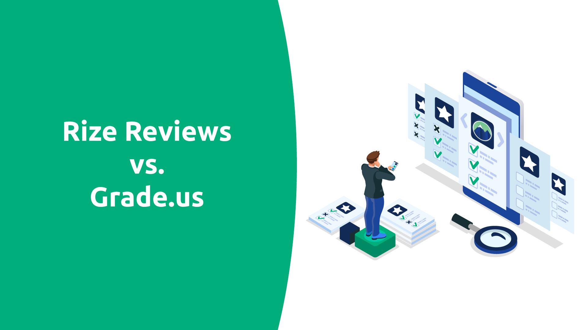 Rize Reviews vs. Grade.us Comparison