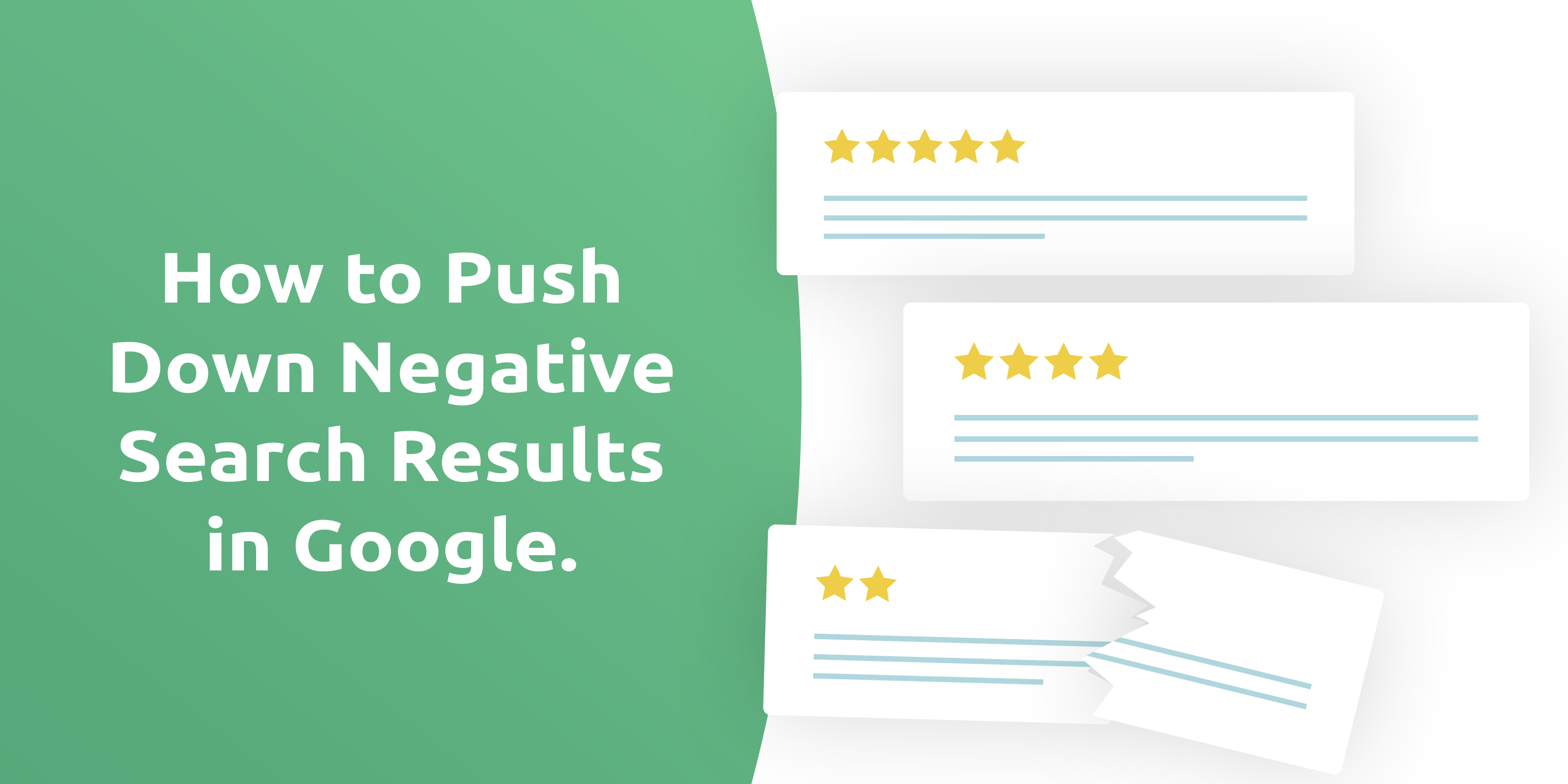 how to push down negative results