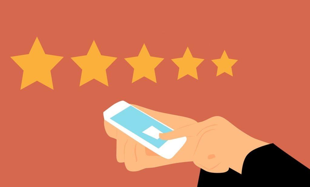 Getting reviews via SMS
